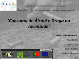 Consumo de drogas na Juventude
