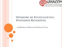 Síndrome de Encefalopatia Posterior Reversível