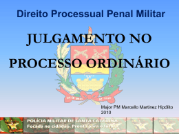 POLÍCIA MILITAR DE SANTA CATARINA Focada no cidadão