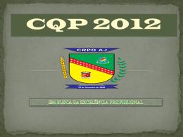 Abertura CQP 2012 BOTC