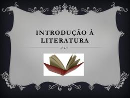 Introdução à literatura - Colégio Energia Barreiros