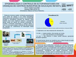 EPIDEMIOLOGIA E CONTROLE DE ECTOPARASITOSES EM