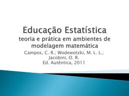 Educação Estatística teoria e prática em ambientes de - IME-USP