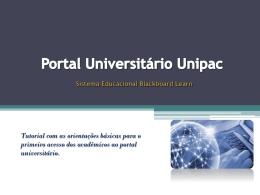 Tutorial alunos-_Portal_Universitário_Unipac