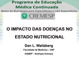 O impacto das doencas no estado nutricional