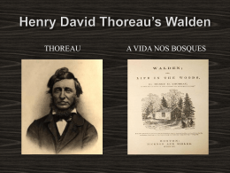 Henry David Thoreau`s Walden