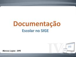 Oficina - Documentação Escolar