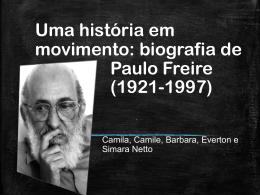 Paulo Freire - história da educação no brasil i