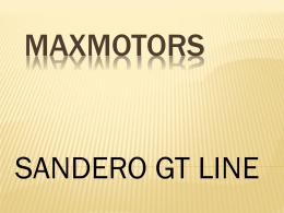 Sandero GT Line