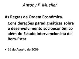 As Regras da - Continental Economics Institute