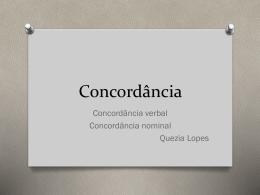Concordância - WordPress.com