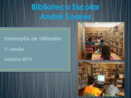 PPT explicativo - Bibliotecas André Soares