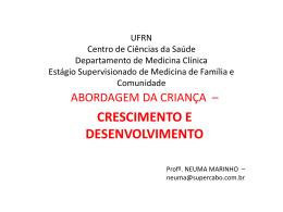 UFRN Centro de Ciências da Saúde Departamento de