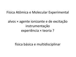 PowerPoint-Präsentation - Instituto de Física / UFRJ