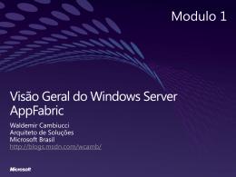 Serviços - Microsoft