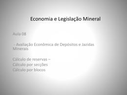 CALCULO DE RESERVAS