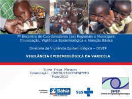 vigilância epidemiológica da varicela