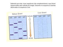Questão para a aula de sequenciação