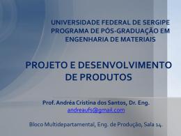 PROJETO - Prof. Alberto J. Alvares