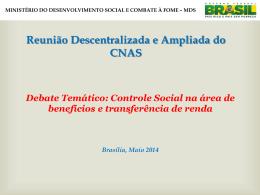 Maria Jose de Freitas - MINISTÉRIO DO Desenvolvimento Social e