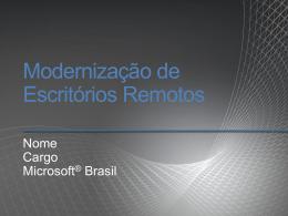 Presentation - Branch Modernization - Core IO