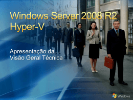 Windows Server 2008 R2 Hyper-V BDM_TDM