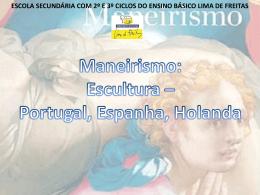 Maneeirismo - Escultura.