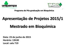 cartaz apresentação disciplina pós 2015 1