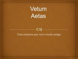 Vetum Aetas