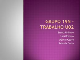 Grupo 19n * Trabalho U02