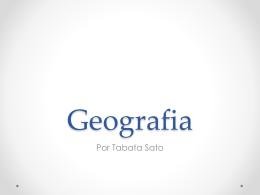 Geografia Geral - CASD - Comércio Turismo