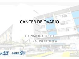 CANCER DE OVÁRIO