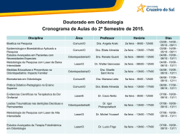 Doutorado - Universidade Cruzeiro do Sul