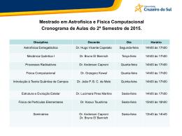 Slide 1 - Universidade Cruzeiro do Sul