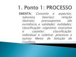 PROCESSO - Vallisney Oliveira