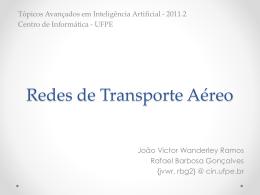 Redes de Transporte Aéreo - Centro de Informática da UFPE