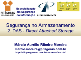 2. DAS - Direct Attached Storage
