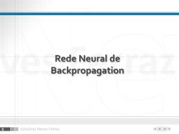 Apresentação PowerPoint sobre BackPropagation