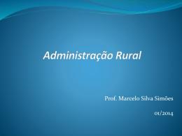 AdministraçãoRural-Aula7