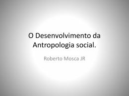 Antropologia.
