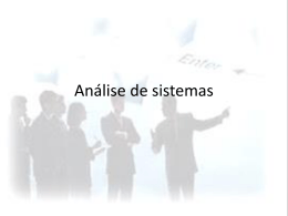 Análise de sistemas - Pradigital
