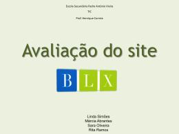 Avaliação do site das BLX