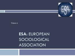 Esa - Associação Portuguesa de Sociologia