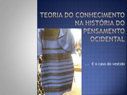 TER3 – o vestido e o conhecimento II