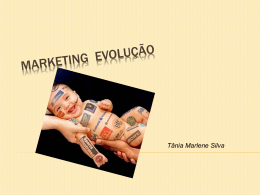 Marketing evolução