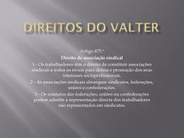 Direitos do Valter