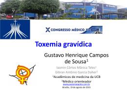 Toxemia gravídica - Paulo Roberto Margotto