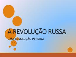 A REVOLUÇÃO RUSSA (1742376)