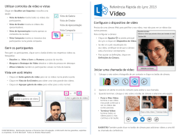 Lync Video Quick Reference Card