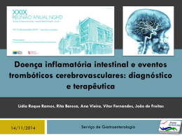 Reunião Doença Inflamatória Intestinal